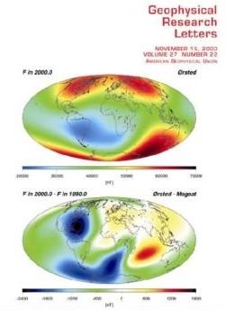 Anomalies du champs magnétique