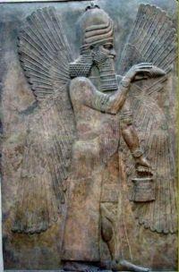 Annunaki, représentation sumérienne