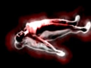 Voyage astral ou décorporation, l'âme se détachant du corps physique