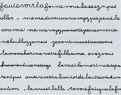 L'écriture automatique, la main est guidée par un fantôme
