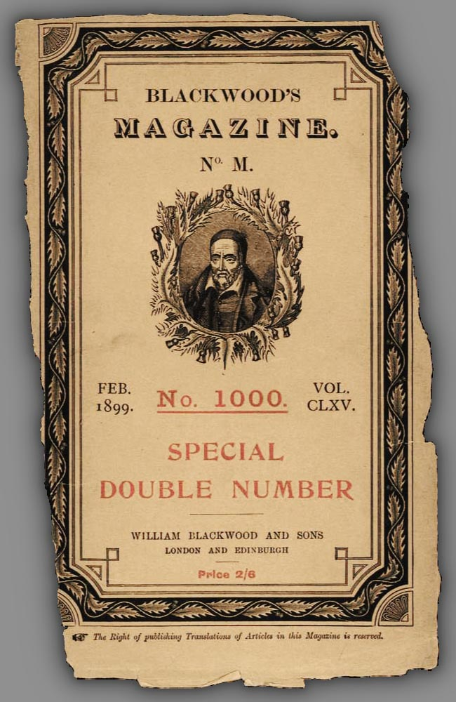 Blackwood's Magazine - 1899 February's cover.jpg