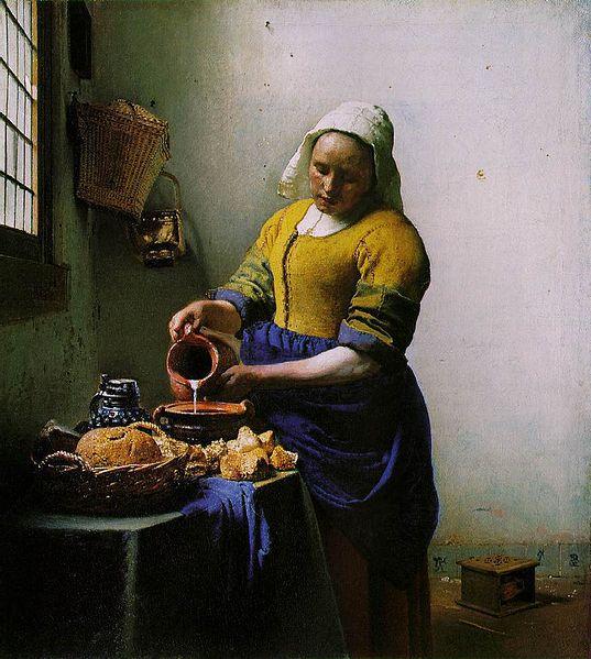 Histoire d 39 une oeuvre la laiti re de jan vermeer vers 165 - Histoire de la sculpture ...