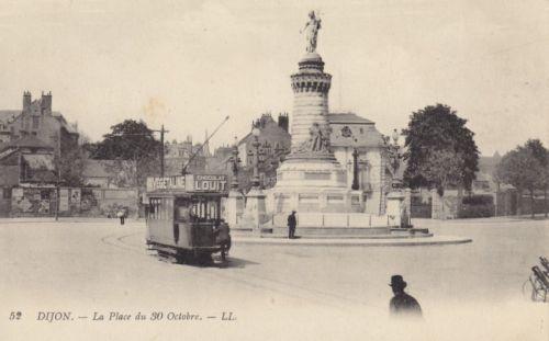 Dijon Tramway 1900 / Place du 30 octobre