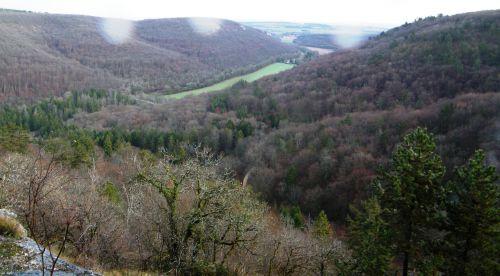 Paysage des hauteurs de Messigny