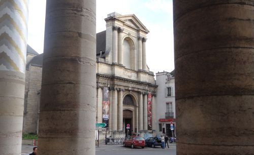 Dijon - NEF vue du Grand Théâtre