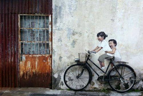 Street Art Utopia - Ernest Zacharevic - Malaysie