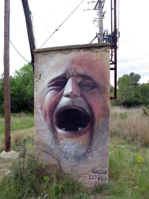 Street Art Utopia - Gaser - Espagne