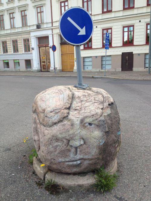 Street Art Utopia -J. Stampe - Goteborg (Suède)