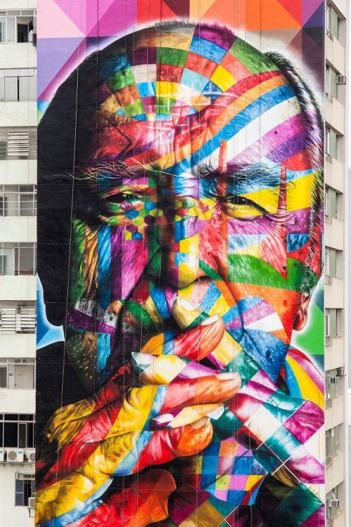 Street Art Utopia  - Kobra - São Paulo (Brésil)