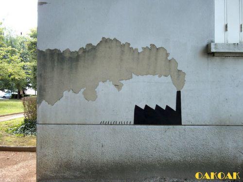 Street Art Utopia - Oak Oak