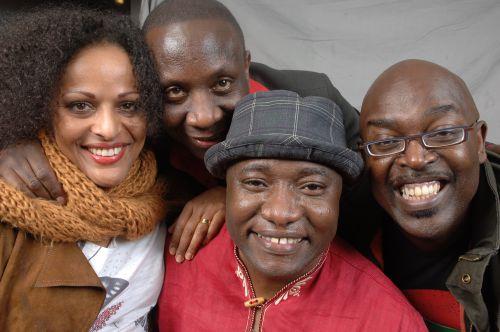 Afsana, Alphonse, Aaron, Ben Ngabo
