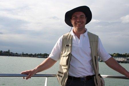 Pour rentrer d\'Auckland on a préféré le bateau
