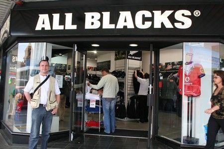 Un superbe magasin à Auckland