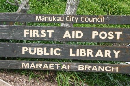 un poste de secours qui fait librairie...Qui a dit que les ambulanciers ne savaient pas lire?