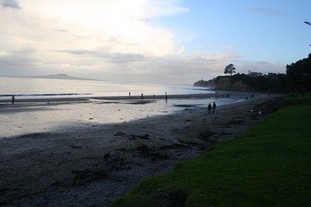 La plage de Browns Bay