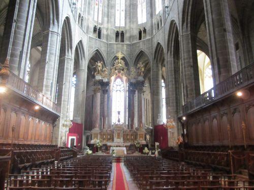 Narbonne choeur de la cathédrale