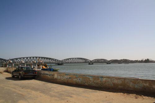 Senegal pont à Saint Louis