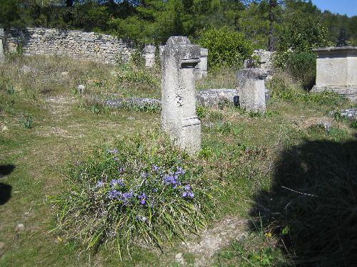 Cimetière abandonné depuis environ 1910