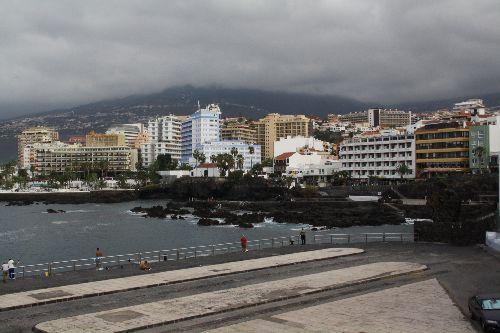 Vue du bord de mer Puerto de la Cruz