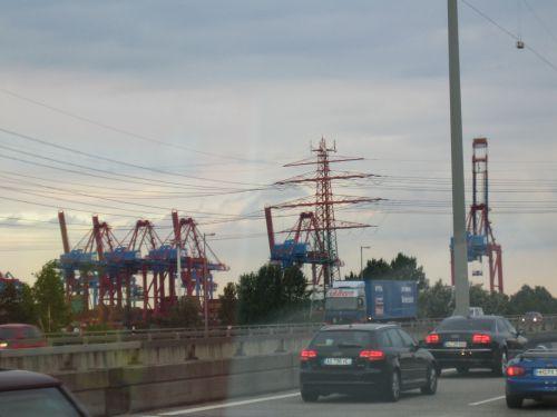 Hambourg (Vue de la voiture)
