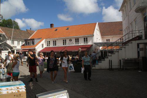 Mandal, petite ville juste après Kristiansand