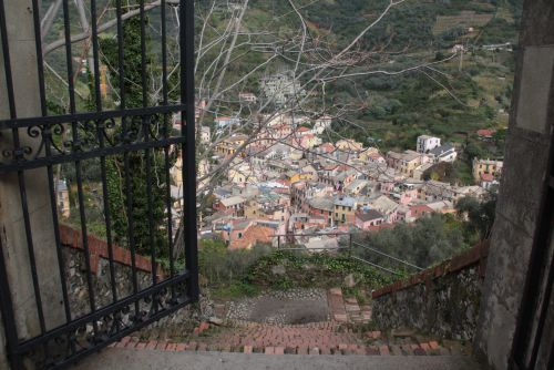 Vue sur Riomaggiore