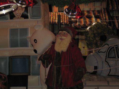 L'atelier du Père Noël avec le maître d'oeuvre