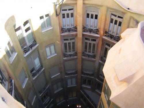 Casa Battló Barcelone d'en haut