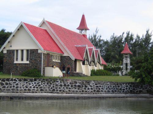 Ile Maurice  Eglise de Cap Malhreureux