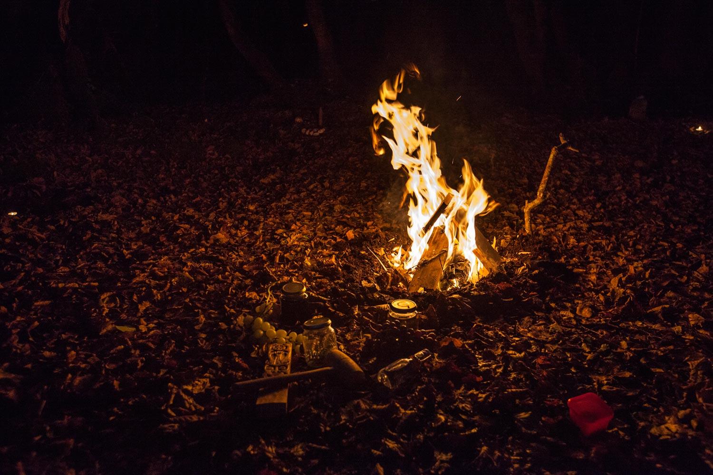 le feu de Samhain