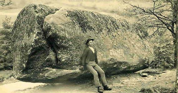 Une roche tremblante