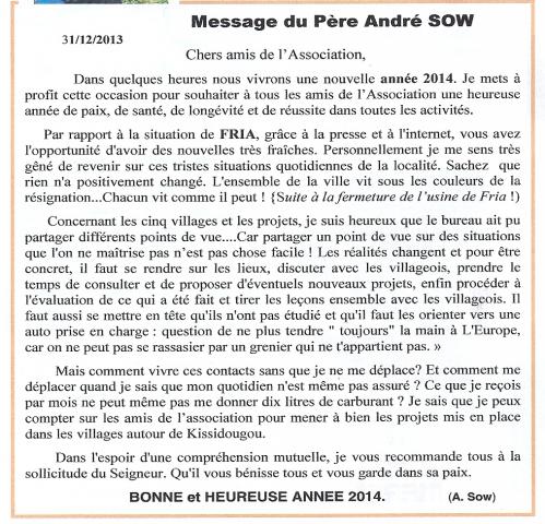 Message du Père André SOW janvier 2014 .jpg