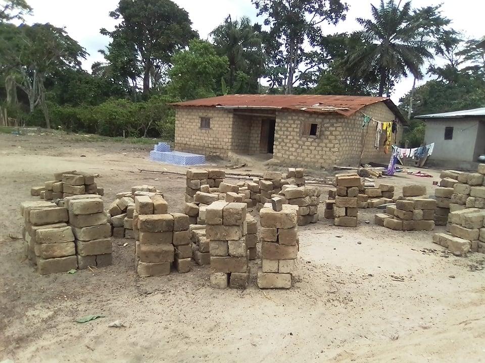 briques en banco séchées