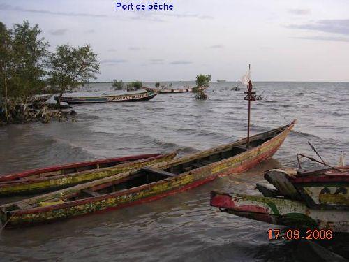Port de pêche à Kamsar