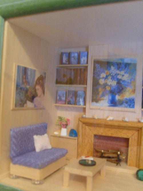 Le salon de Philou - détail canapé