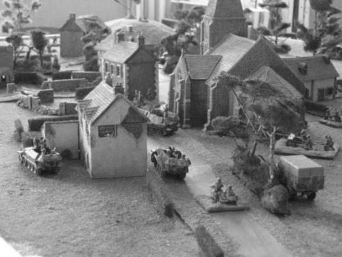 Normandy Village Village Normandie 1944 En 15mm Decors