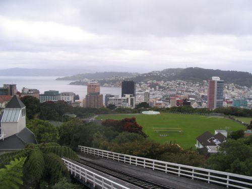 Vue sur un quartier de Wellington