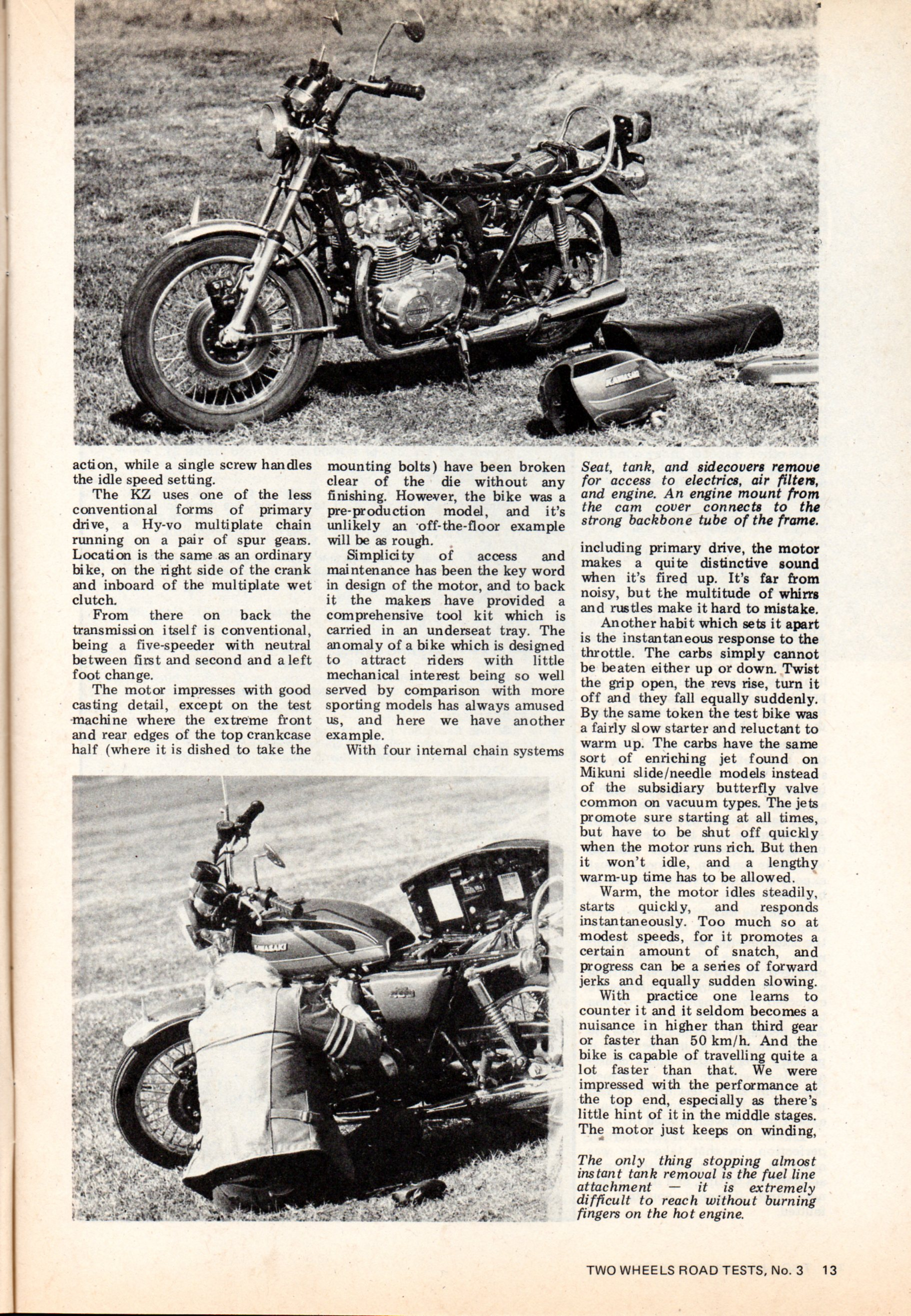 Two Wheels Road Test n°3  kz400   118.jpg