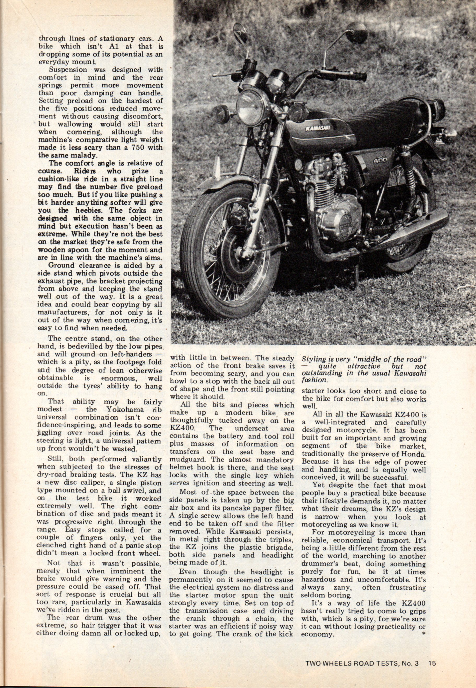 Two Wheels Road Test n°3  kz400   120.jpg