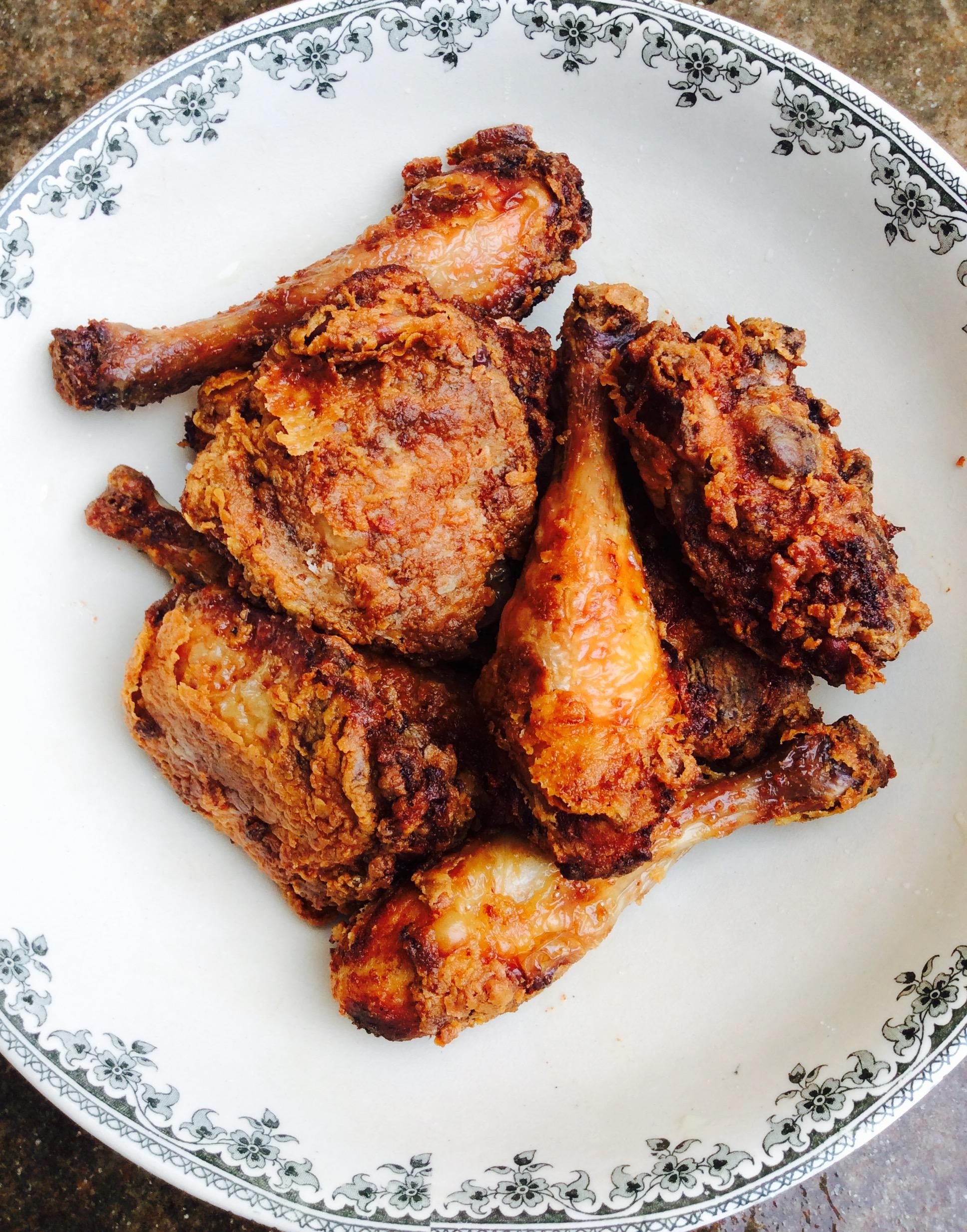fried chicken poulet frit l 39 am ricaine foodlolo. Black Bedroom Furniture Sets. Home Design Ideas