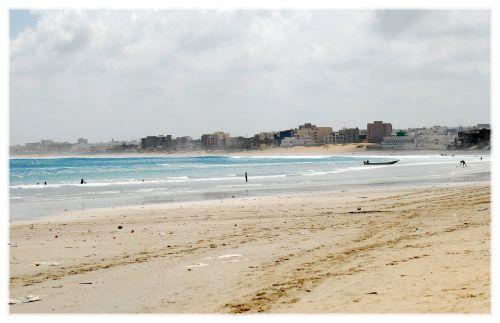 Yoff - la plage