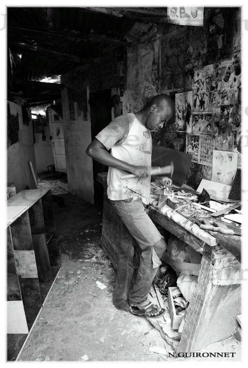 Recycleur_Marché Soweto
