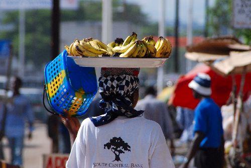 Vendeuse de bananes