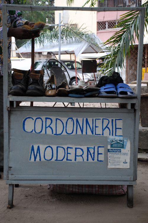 Cordonnier à Brazzaville