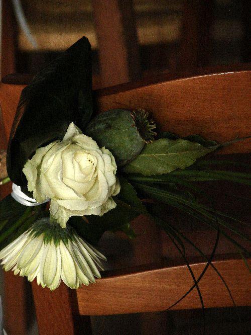 Bouquet de banc d\'église