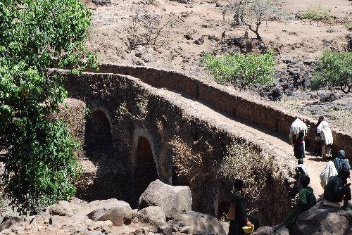 Pont Portugais - Vers les Chutes du Nil