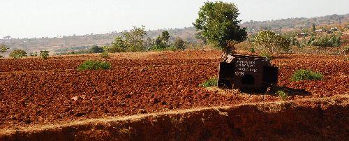 Tank dans la nature - Route de Bahar Dar