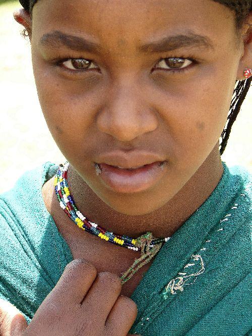 Jeune éthiopienne-Harar-Sept 09