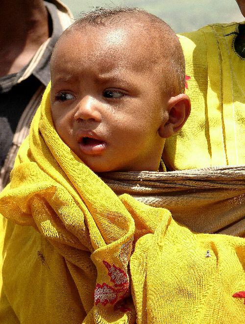 Jeune bébé éthiopien-Harar-Sept 09
