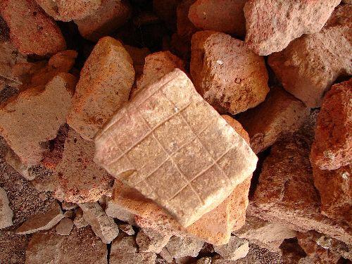 Ancienne plaque à pain-Queen of Sheba Palace-Axum-Nov 09